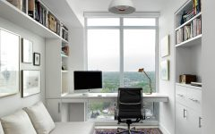 Modern Home Office for Apartment Interior