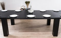 Black Extending Dining Tables