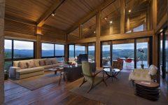 Modern Wood House Interior Design Idea