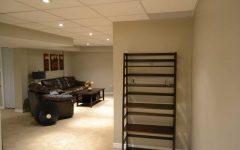 Modern Basement Ceiling Details