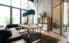 Modern Dining Room Lighting for Apartment