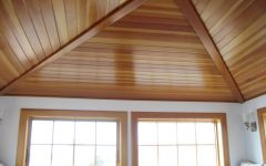 Modern Wooden Ceiling Material for Living Room 2015