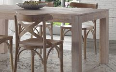 Montauk 35.5'' Pine Solid Wood Dining Tables