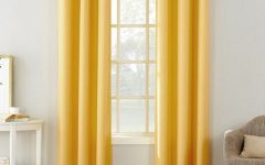 Copper Grove Speedwell Grommet Window Curtain Panels