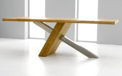 Brushed Steel Dining Tables