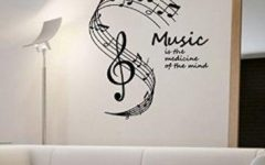 Music Note Wall Art Decor
