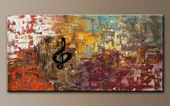 Abstract Music Wall Art