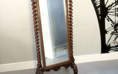 Free Standing Antique Mirror