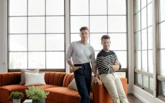 Liv Arm Sofa Chairs by Nate Berkus and Jeremiah Brent