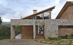 Natural Material Wood House Design