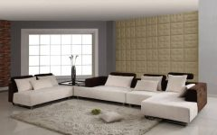 Modern Microfiber Sectional Sofas