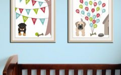 Modern Nursery Canvas Wall Art