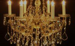 Crystal Gold Chandelier