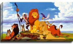 Lion King Canvas Wall Art