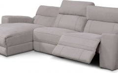 Palisades Reclining Sectional Sofas With Left Storage Chaise