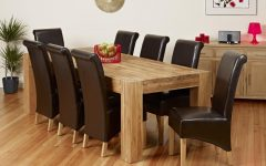 Dining Tables and 8 Chairs for Sale