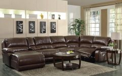 Reclining U Shaped Sectionals