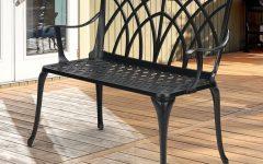 Norrie Metal Garden Benches