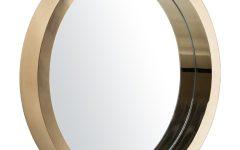 Modern Gold Mirror