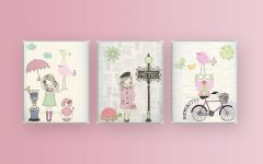 Paris Theme Nursery Wall Art