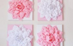 Pink and White Wall Art