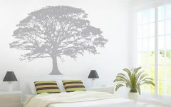 Oak Tree Vinyl Wall Art