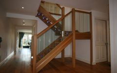 Oak Staircase With Modern Design