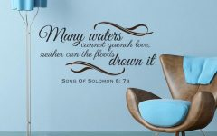 Scripture Vinyl Wall Art
