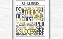 Motivational Wall Art for Office