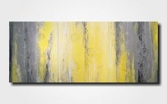 Large Yellow Wall Art