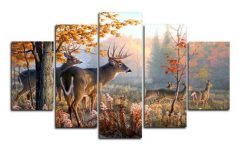 Deer Canvas Wall Art
