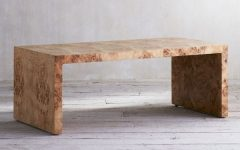 Oslo Burl Wood Veneer Coffee Tables