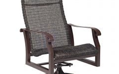 Woven High Back Swivel Chairs
