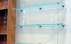 Cable Suspended Glass Shelving