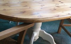 Cleary Oval Dining Pedestal Tables