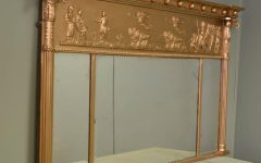 Vintage Overmantle Mirror