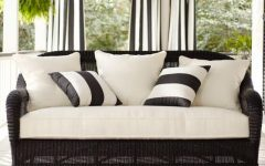Black Wicker Sofas