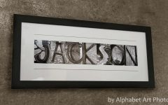 Custom Last Name Wall Art