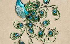 Peacock Metal Wall Art