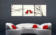 Canvas Wall Art Sets of 3
