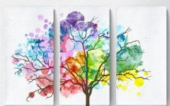 Rainbow Canvas Wall Art