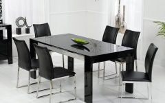 Black Gloss Dining Sets