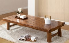 Low Japanese Style Coffee Tables