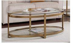 Retro Glitz Glass Coffee Tables