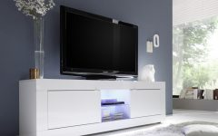Glossy White TV Stands