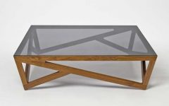 Wooden and Glass Coffee Tables