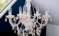 French Glass Chandelier
