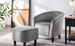 Riverside Drive Barrel Chair and Ottoman Sets