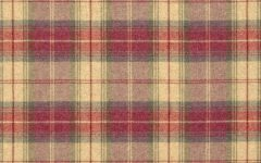 Plaid Roman Blinds