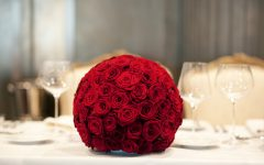 15 Romantic Red Wedding Centerpieces Ideas